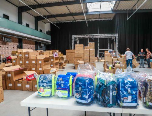 Kinderglück erhält bereits 1450 Anträge für das Schulranzenprojekt 2019