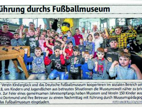 Führung durchs Fußballmuseum