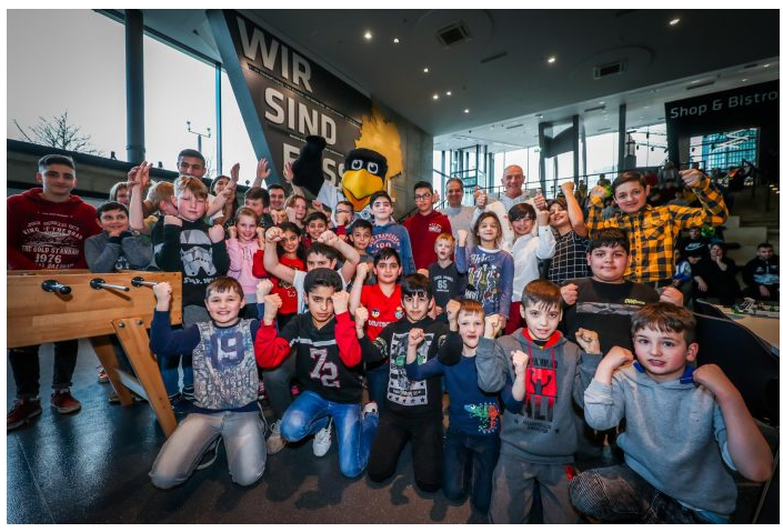 Kinderglück im Fußballmuseum