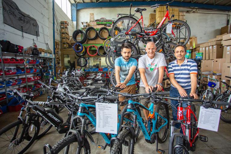 Fahrrad-Projekt