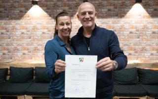 Stiftungsgründer Bernd und Susanne Krispin
