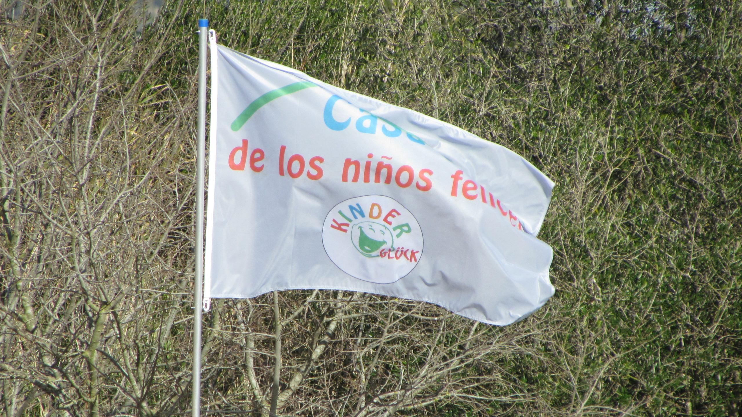 Kinderglück-Fahne