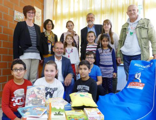 35 Dortmunder Grundschulen mit Leseecken und Büchern ausgestattet