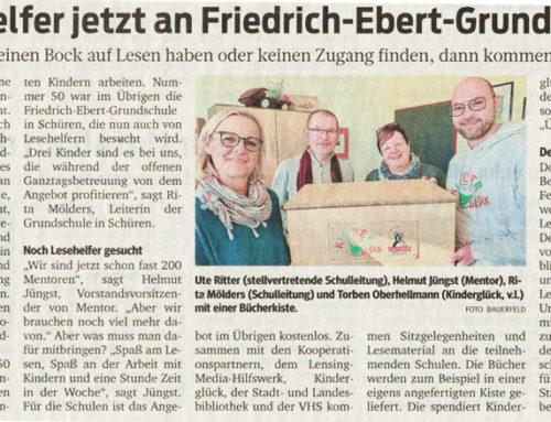 Lesehelfer in Friedrich-Ebert Grundschule