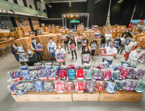 Die Stiftung Kinderglück realisiert trotz Coronapandemie das Schulranzenprojekt 2020