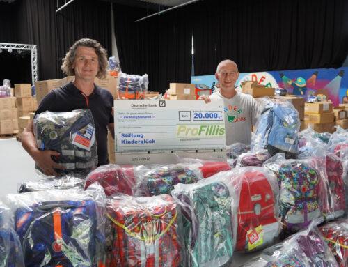 PROFILIIS-STIFTUNG spendet 20.000 EURO an die Stiftung Kinderglück