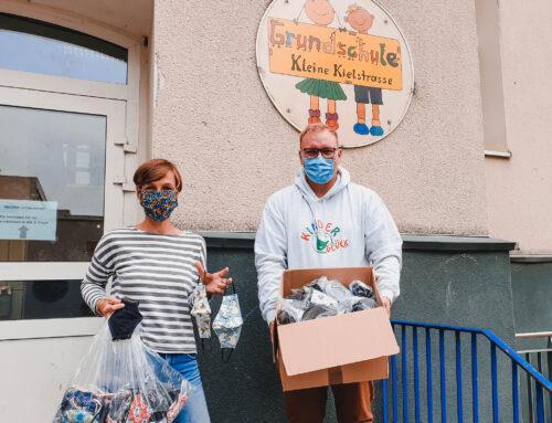 450 Mund- und Nasenschutze für Kinder