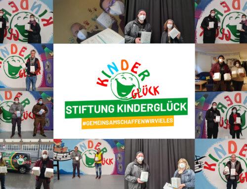 Stiftung Kinderglück verteilt 12.000 FFP2-Masken an Betreuungseinrichtungen